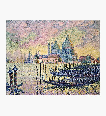 Paul Signac - Entrance To The Grand Canal, Venice  Photographic Print