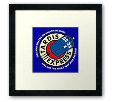 Tardis Express Framed Print