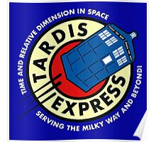 Tardis Express Poster