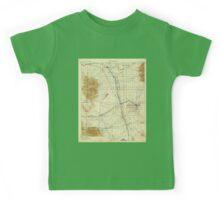 USGS TOPO Map Arizona AZ Benson 315330 1915 125000 Kids Tee