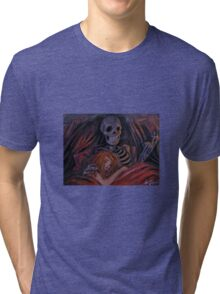 Life and Death painting Tri-blend T-Shirt