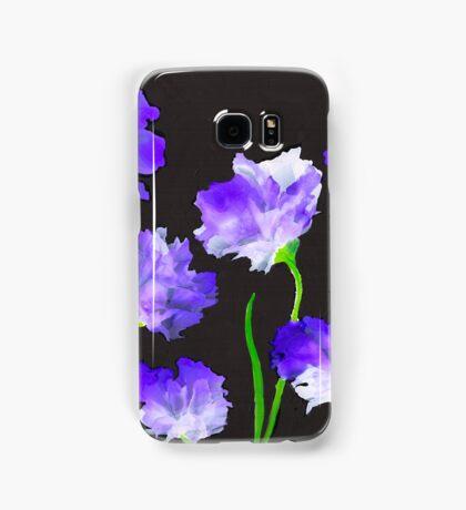 """Purple Iris Passion"" Unique, Original Artist's Design! Samsung Galaxy Case/Skin"