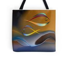 Two Fish Tote Bag