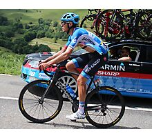 Tour de France - Jack Bauer (2) - New Zealand  Photographic Print