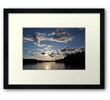 The hidden sun Framed Print