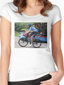 Tour de France - Jack Bauer (2) - New Zealand  Women's Fitted Scoop T-Shirt