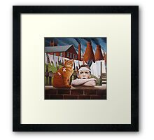 Collateral Damage Framed Print