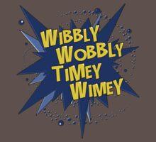 Wibbly Wobbly Timey Wimey (Comics) Kids Clothes