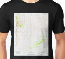 USGS TOPO Map Arizona AZ McGrew Spring 312283 1973 24000 Unisex T-Shirt