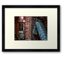 """Look Out For Crane"" Framed Print"