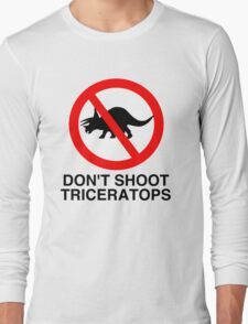 Don't Shoot Triceratops T-Shirt