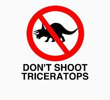 Don't Shoot Triceratops Unisex T-Shirt