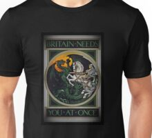 Knight and Dragon WWI Unisex T-Shirt