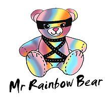 Mr Rainbow Bear by lockwie