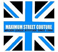 Maximum Britain-Blue Photographic Print