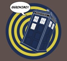Tardis Geronimo (Comics) Kids Clothes