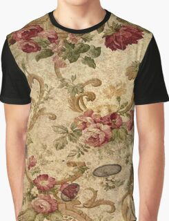 antique,rustic,floral,wall paper,shabby chic,country chic,elegant,old, grunge Graphic T-Shirt