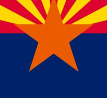 Arizona State Flag Graphic USA Styling Sticker