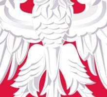 poland flag eagle emblem. Sticker