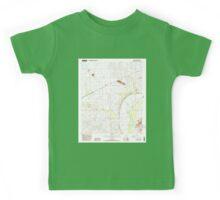 USGS TOPO Map Arizona AZ Arlington 310304 1984 24000 Kids Tee