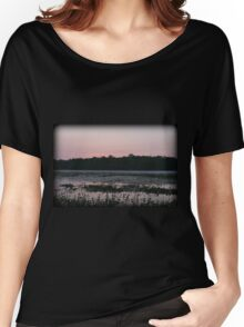 Morning Pink Women's Relaxed Fit T-Shirt