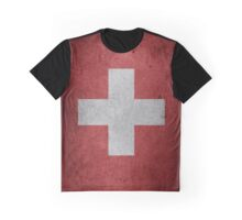SWITZERLAND (FLAG) Graphic T-Shirt