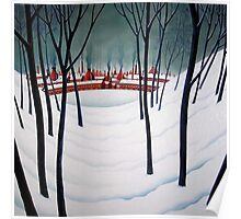 Potteries Winter Poster