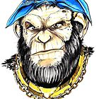 gangster chimp by camillo88