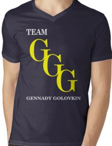 Team GGG Mens V-Neck T-Shirt
