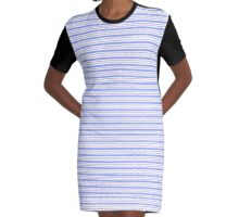 New Textura con lineas Horizontales  Graphic T-Shirt Dress