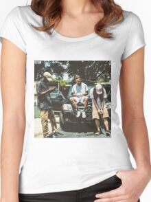 $uicideboy$ g59 cover Women's Fitted Scoop T-Shirt