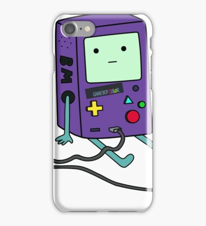 Beemo (BMO) Gameboy color purple iPhone Case/Skin