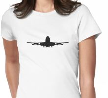 Airplane aviation Womens Fitted T-Shirt