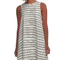 Lindas Lineas Horizontales  :) A-Line Dress
