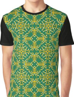 Baroque 6 Green Graphic T-Shirt