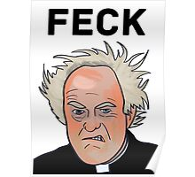 Father Jack - FECK Poster
