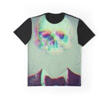 trippy skull face Graphic T-Shirt