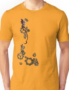 Tiny Dragon Steampunk Gears Unisex T-Shirt