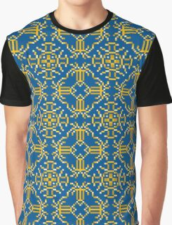 Baroque 6 Blue Graphic T-Shirt