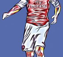 Mikel Arteta by ArsenalArtz