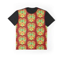 Abstract 1 Red Graphic T-Shirt