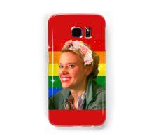 Jillian Holtzmann Gay Flag Samsung Galaxy Case/Skin