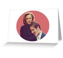 Gillian Anderson and David Duchovny!!!!  Greeting Card