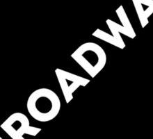 Broadway Collage Sticker