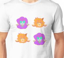 Tiling Monster Girl Heads Unisex T-Shirt