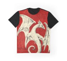 White Dragon Graphic T-Shirt