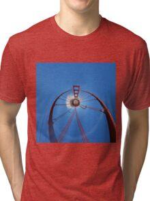 Flying High with the Golden Gate Bridge Tri-blend T-Shirt