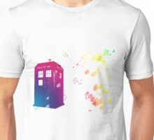 Doctor who - The Tardis in Watercolours ... Geronimo ! * laptop skins, and mugs added * Unisex T-Shirt