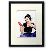 Sports, dumbbells, health Framed Print