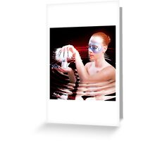 In the water Greeting Card